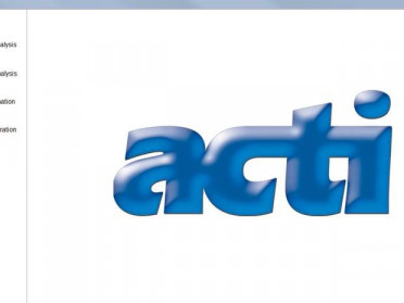 Actisoft screen capture home page Acti